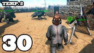 getlinkyoutube.com-T-REX EN LA NOCHE!! ARK: Survival Evolved #30 Temporada 2