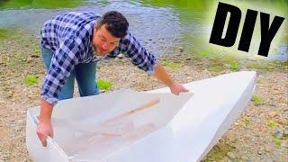 getlinkyoutube.com-How to Make • Foldable Kayak