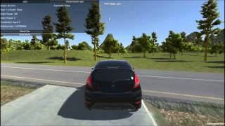 getlinkyoutube.com-[Unity 3D] Testing of my car physics #2