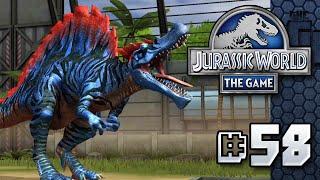 MEGA SPINOSAURUS || Jurassic World - The Game - Ep 58 HD