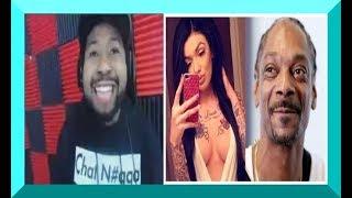 dj akademiks GOES OFF on Celina for Snoop Dogg & L&HH width=