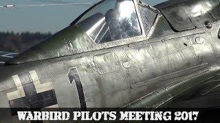 Warbird Pilots Meeting 2017