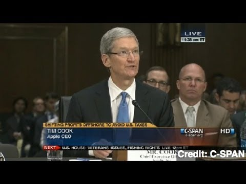 Senators Grill Apple CEO Over Tax Evasion Charges