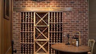 getlinkyoutube.com-Botelleros - Botelleros de madera para el vino - Botelleros de pared
