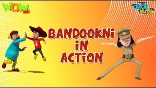 getlinkyoutube.com-Bandookni Ka Action - Chacha Bhatija Funny Videos and Compilations - 3D Animation Cartoon for Kids