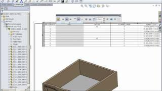 getlinkyoutube.com-Obliczanie powierzchni płyt niezbędnych do zbudowania mebli w SolidWorks