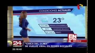 getlinkyoutube.com-Sexy chica del clima se vuelve viral en las redes sociales
