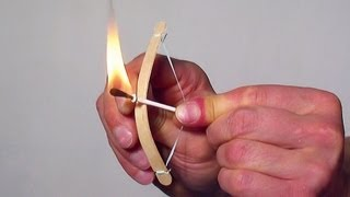 getlinkyoutube.com-How to Make a Mini Bow and Arrow