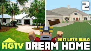 getlinkyoutube.com-Minecraft Xbox One: Let's Build The HGTV Dream Home 2017! (Part 2)