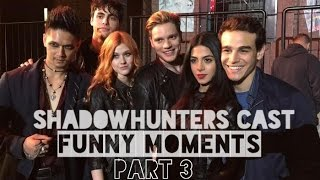 getlinkyoutube.com-Shadowhunters Cast Funny Moments Part 3