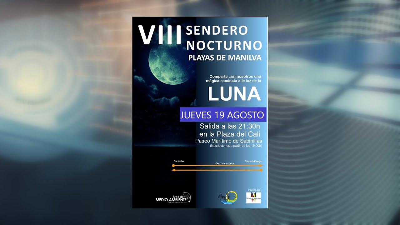 El 19 de agosto se celebrará el Sendero Nocturno