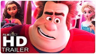 WRECK IT RALPH 2 AnimationTrailer  2018