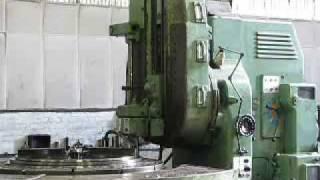 getlinkyoutube.com-Maag SH350/500 Heavy Duty Gear Cutting Machine.