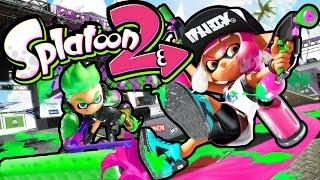 getlinkyoutube.com-Splatoon 2 Gameplay - Nintendo Switch Sequel Hands-On Footage - NEW Splat Dualies, Specials, Trailer