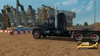 Euro Truck Simulator 2: Mack Superliner DD 8v71 with Duff Beer trailer