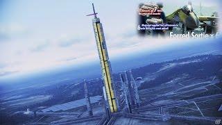 getlinkyoutube.com-Ace Combat Infinity*F-22A -Bishop-Lv.15*4AAM-Lv.5*Excalibur Onslaught III