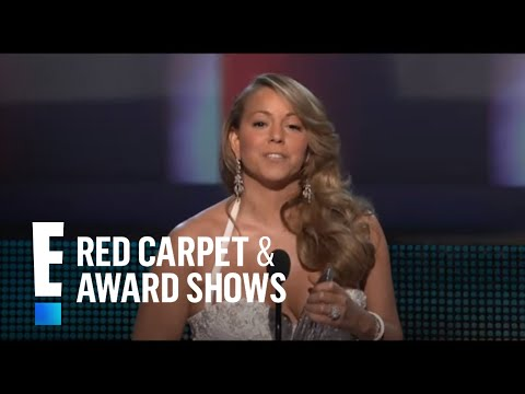 PCA 2010: Mariah Carey accepts the award for Favorite R&B Artist