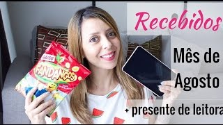 getlinkyoutube.com-♡ Recebidos do mês  de Agosto + Presentes | Thais e Thalita Matsura