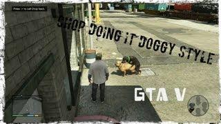 "getlinkyoutube.com-GTA V Walkthrough: Mission 3 - CHOP ""Stop Fucking Him Chop.......it's a dude!!"""