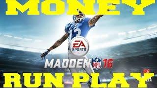 getlinkyoutube.com-Best Madden 16 Greatest Unstoppable Run Play Money Play How To : Pistol Ace