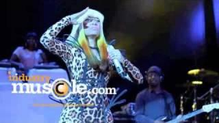 Nicki minaj au concert de noël de hot 97
