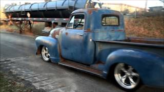 "getlinkyoutube.com-""Tight Fittin Jeans"" 1953 Chevrolet 3100 Hot Rat Street Rod Patina Shop Truck FOR SALE!"