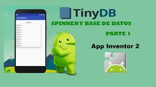 getlinkyoutube.com-APP INVENTOR 2 - SPINNER Y BASE DE DATOS