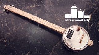 getlinkyoutube.com-How to make an electric canjo guitar