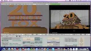 getlinkyoutube.com-Creare animazioni 3D con Blender - Intro 20th Century Fox