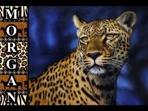 Oil painting lessons - wildlife art - Jason Morgan - speed painting