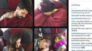 "getlinkyoutube.com-Lihat Wajah 4 Bintang ""Elif"" Tidur Pulas di Pesawat, Siapa Paling Imut?"