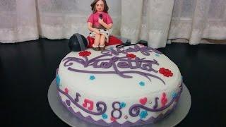 getlinkyoutube.com-Violetta Cake