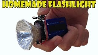 getlinkyoutube.com-How to Make a Homemade Mini Flashlight