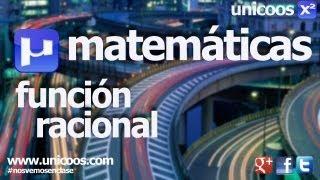 Imagen en miniatura para Representación función racional