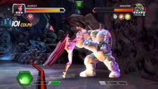 getlinkyoutube.com-Marvel: Contest of Champions - Maestro vs Scarlet 3 star