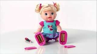 getlinkyoutube.com-BABY ALIVE   BABY WANNA WALK Doll Video