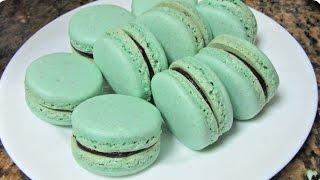 getlinkyoutube.com-وصفة الماكارون بالطريقة الإيطالية - Macarons -The Italian Method
