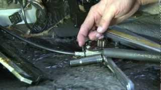 getlinkyoutube.com-Mercedes-Benz '91 560 SEL Rear Seat Repair - DIY