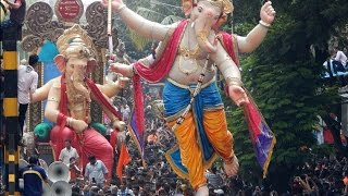 getlinkyoutube.com-AAGMAN SOHALA 2015 : Chandanvadi & Malbar Hill cha Raja