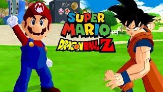 getlinkyoutube.com-Super Mario vs Goku | Super Mario Meets Dragon Ball Z | DBZ Tenkaichi 3 (MOD)