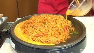 getlinkyoutube.com-「鉄板ナポリタン 名古屋風」に挑戦!絶品ナポリタンのアレンジレシピ