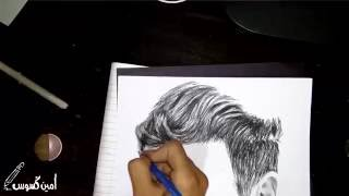 getlinkyoutube.com-Speed Drawing ♦ Saad lamjarred - سعد لمجرد ♦