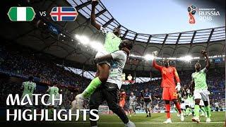 Nigeria v Iceland - 2018 FIFA World Cup Russia™ - Match 24 width=