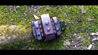 getlinkyoutube.com-Kit Review - Wolfwind Leatherworks Sheath