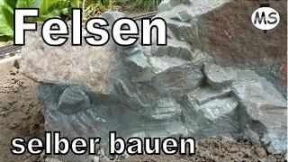 getlinkyoutube.com-Modellbau Garten Gestaltung - Felsen Mauer selber bauen (Tutorial)