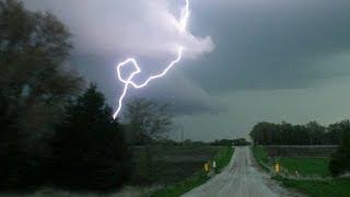 getlinkyoutube.com-MOTHERS DAY GREEN TORNADO - 1.3 mile wide EF3, Supercell & Lightning barrage!