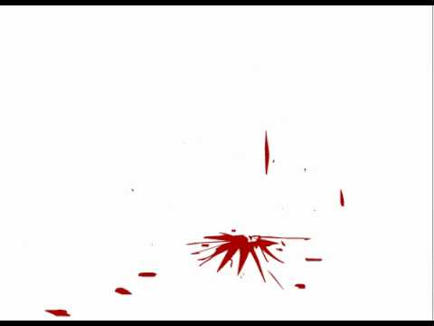 Flash Animation Blood Splatter