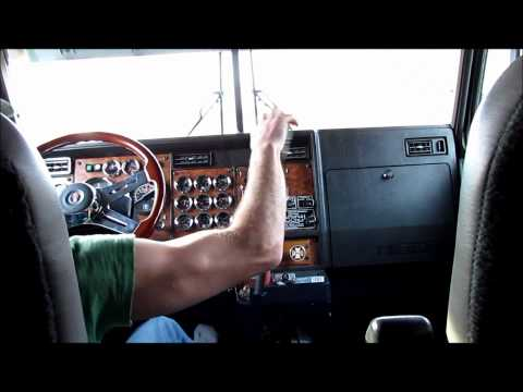 Kenworth W900l Shifting And Jakebraking