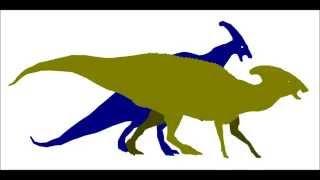 PPBA Parasaurlophus vs Albertosaurus Valentines special