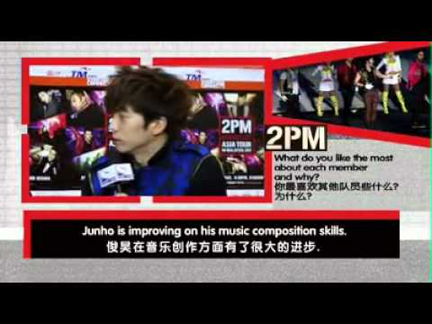 Malaysia ONE TV ASIA - Exclusive interview with 2PM!